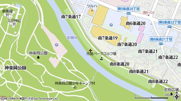 〒078-8338 北海道旭川市南8条通の地図