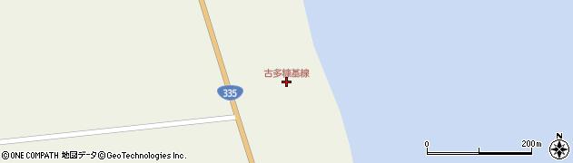 古多糠基線周辺の地図