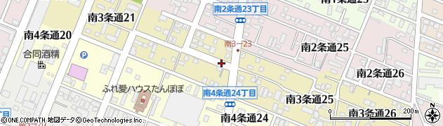 北海道旭川市南3条通周辺の地図