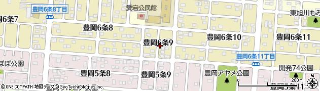 北海道旭川市豊岡6条9丁目周辺の地図