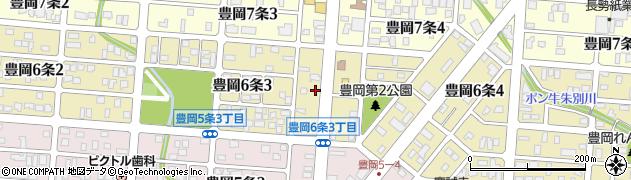 北海道旭川市豊岡6条周辺の地図