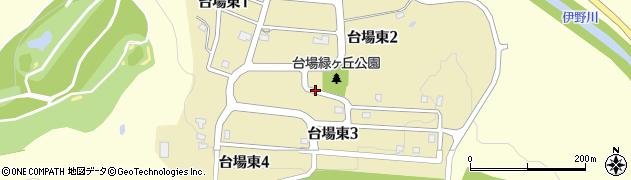 北海道旭川市台場東周辺の地図