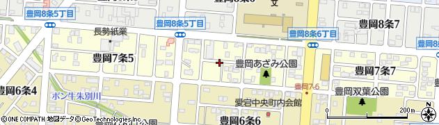 北海道旭川市豊岡7条周辺の地図
