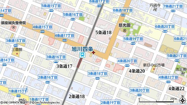〒078-8214 北海道旭川市4条通25丁目の地図