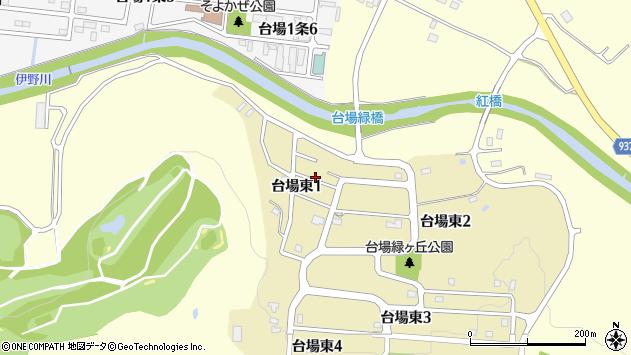 〒070-8027 北海道旭川市台場東の地図
