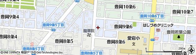 北海道旭川市豊岡9条周辺の地図