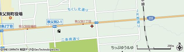 セイコーマート秩父別店周辺の地図