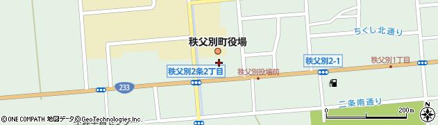 北海道秩父別町(雨竜郡)秩父別周辺の地図