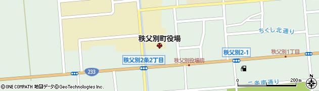 北海道秩父別町(雨竜郡)周辺の地図