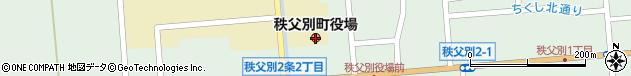 北海道雨竜郡秩父別町周辺の地図