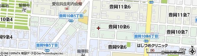 北海道旭川市豊岡10条周辺の地図