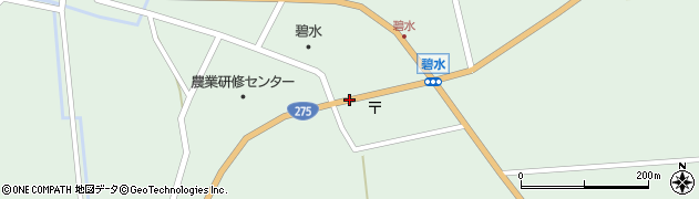 碧水市街周辺の地図