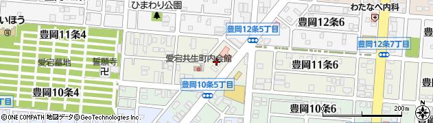 北海道旭川市豊岡11条周辺の地図
