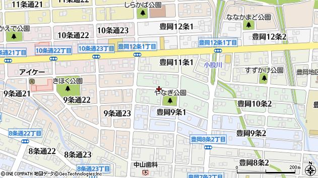 〒078-8240 北海道旭川市豊岡10条の地図
