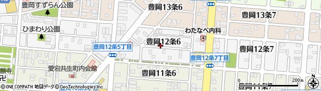 北海道旭川市豊岡12条周辺の地図