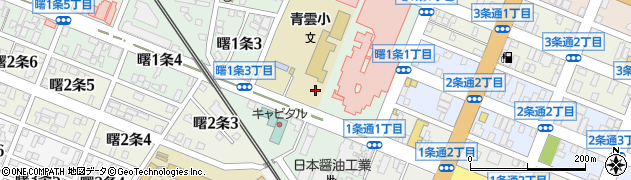 北海道旭川市曙1条周辺の地図
