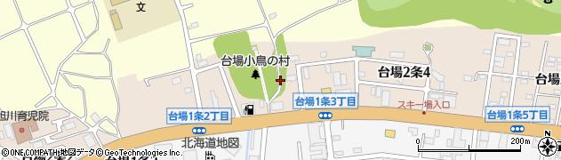 北海道旭川市台場2条周辺の地図