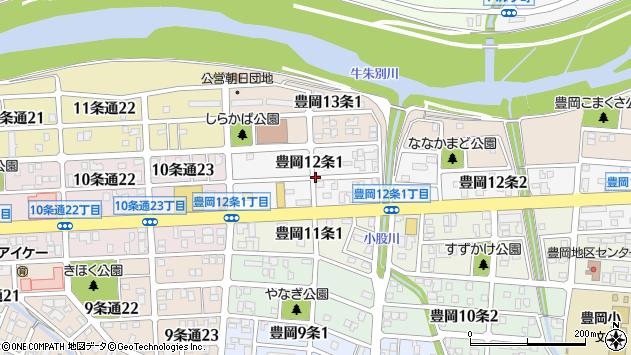 〒078-8242 北海道旭川市豊岡12条の地図