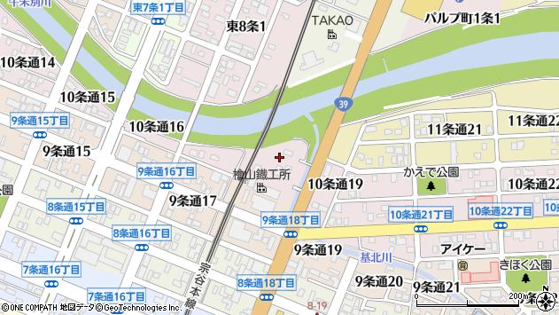 〒078-8220 北海道旭川市10条通21丁目の地図