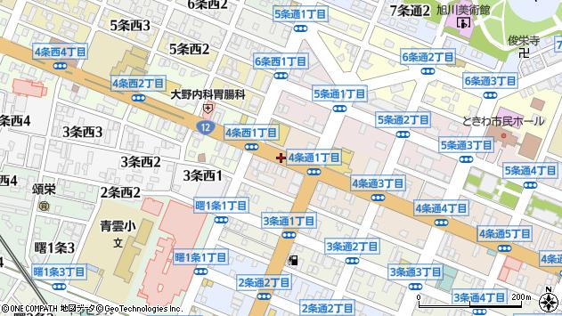 〒070-0034 北海道旭川市4条通17丁目の地図