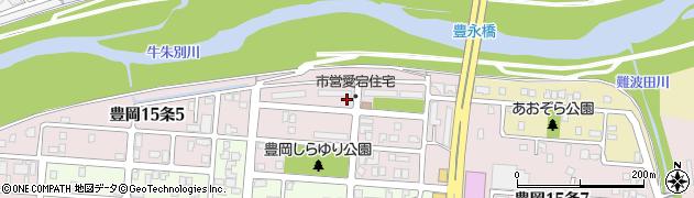 北海道旭川市豊岡15条周辺の地図