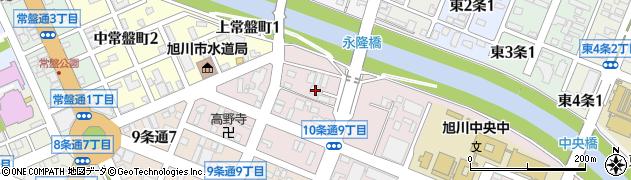日蓮寺周辺の地図