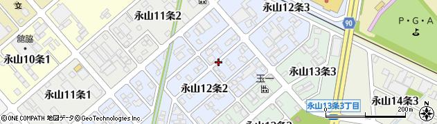 北海道旭川市永山12条周辺の地図