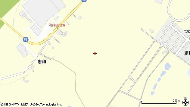 〒070-8021 北海道旭川市神居町忠和の地図