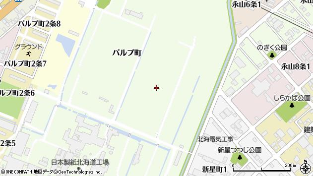 〒070-0013 北海道旭川市パルプ町の地図