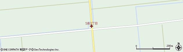 5条3丁目周辺の地図