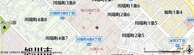 北海道旭川市川端町3条周辺の地図