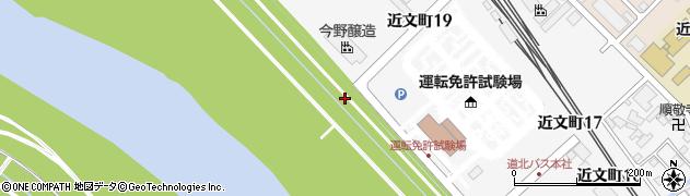 北海道旭川市近文町周辺の地図