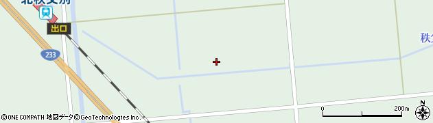 秩父別川周辺の地図