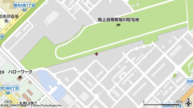 〒070-0902 北海道旭川市春光町の地図
