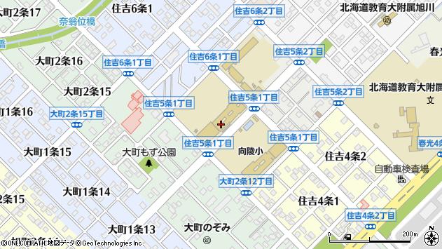 〒070-0865 北海道旭川市住吉5条の地図