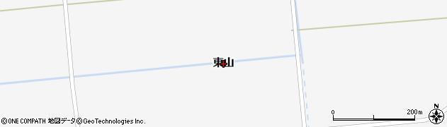 北海道秩父別町(雨竜郡)東山周辺の地図