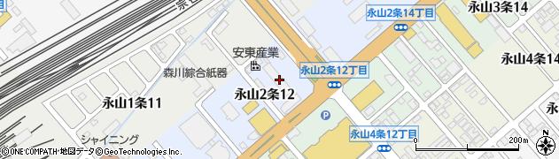 北海道旭川市永山2条周辺の地図