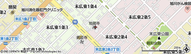 日切山地蔵寺周辺の地図