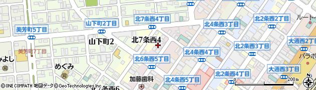 北口マンション周辺の地図