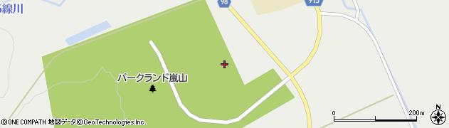 北海道旭川市江丹別町(嵐山)周辺の地図