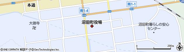 北海道雨竜郡沼田町周辺の地図