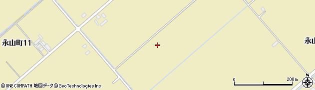 北海道旭川市永山町周辺の地図
