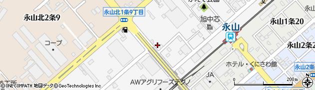 北海道旭川市永山北1条周辺の地図
