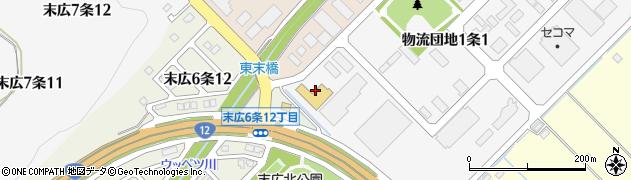 北海道旭川市東鷹栖4線(10号)周辺の地図