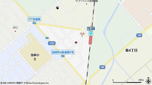 〒078-1324 北海道上川郡当麻町四条南の地図