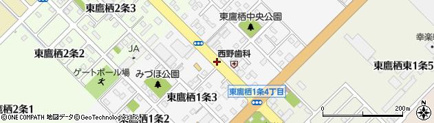 北海道旭川市東鷹栖1条周辺の地図