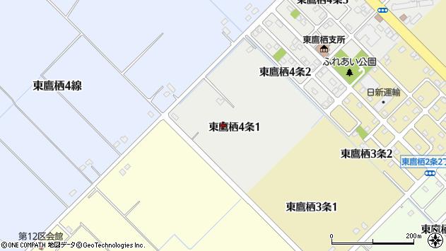 〒071-8104 北海道旭川市東鷹栖4条の地図