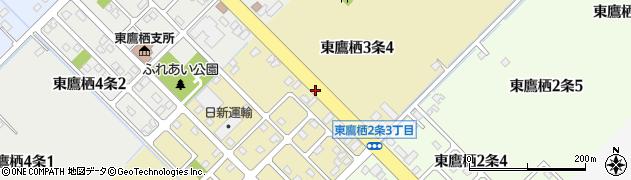 北海道旭川市東鷹栖3条周辺の地図