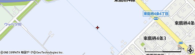 北海道旭川市東鷹栖4線(12号)周辺の地図