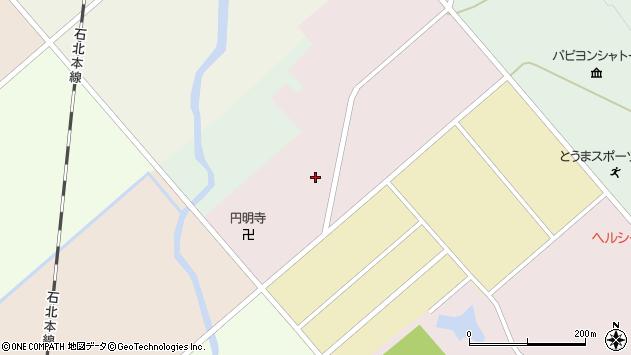 〒078-1306 北海道上川郡当麻町六条西の地図